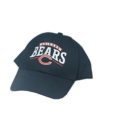 NFL Chicago Bears Youth One Size Fits Most Adjustable Hook and Loop  Hat Cap