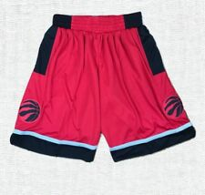 Toronto Raptors Red Stitched Sewn Basketball Shorts New with Tag