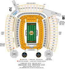2 Pittsburgh Steelers vs Cleveland Brown Tickets - Oct 28, 2018
