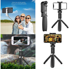 Extendable Selfie Stick Tripod Wireless Remote Bluetooth Shutter For IOS Android