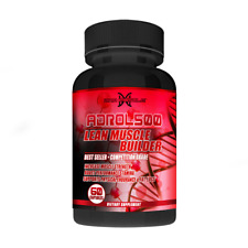 ADROL 500 Lean Muscle Builder fat loss stamina endurance growth no steroids