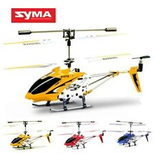 Syma S107 S107G 3CH RC Helicopter With Alloy Copter Built-In Gyro for Beginners