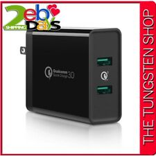 Dual Port USB Wall Fast Charger