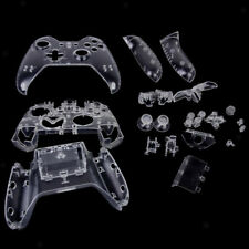 Replacement Clear Full Set Housing Shell Case Cover Kits for Xbox One Controller