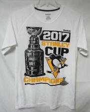 Penguins Stanley Cup Champions 2017 Men's M & XL Playdry Tee Shirt A1 156