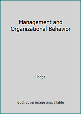 Management and Organizational Behavior  (NoDust) by Hodge
