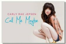 Poster Carly Rae Jepsen Call Me Maybe Art Wall Cloth Print 211
