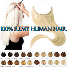 Secret Headband Wire In 100% Remy Human Hair Extensions Brown Black Blonde P218