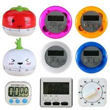 Large LCD Digital Kitchen Cooking Timer Count-Down Up Clock Loud Alarm JL