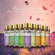 Aromatherapy Essential Oils 100% Natural Pure 10ml Essential Oil Fragrances Z