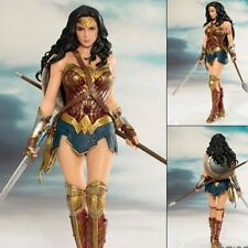Brand New DC Heroes Wonder Woman figure toys doll 19cm DC justice League ARTFX