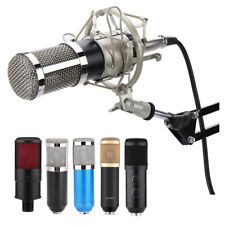 Condenser Microphone Audio Professional Mic for Studio Recording Broadcasting SS