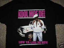 KOOL MOE DEE how ya like me now T-Shirt *NEW