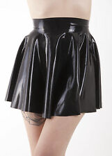 R069 Rubber Latex Stunningly cute Circle Skating Mini Skirt VARIOUS COLOURS LEFT