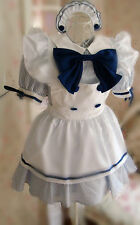 Japanese Girl Maid uniform Cosplay lolita Costume Dress DISCOUNT