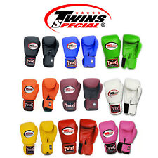 New Twins Muay Thai Boxing Gloves 8 10 12 14 16 oz