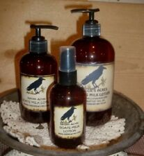 NELLIE'S NATURAL GOATS MILK LOTION...3 SIZES