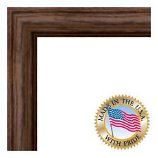 """1.25"""" Walnut Stain on Solid Red Oak Picture Frame"""