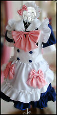 Japanese Girl Maid uniform Cosplay lolita Costume Dress ( DISCOUNT )