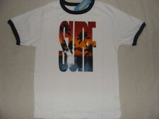 Gymboree BAJA SURF Boys White Cotton Sunset Beach Tee Shirt Top NWT 4 5 Summer