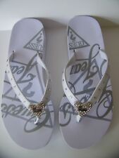 Guess Sandals Flip Flops GF Martino WHT MORE GUESS HERE
