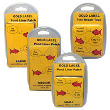 Gold Label Pond Liner Repair Patch Or Pipe Repair Tape Garden Fish Maintenance