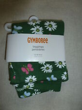 Gymboree DAISY DELIGHTFUL Green Daisy Flower  Butterfly Leggings Pants NWT 12-18