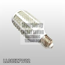 E27 8W 166 led light bulb Daylight cool white color