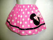 CUSTOM BOUTIQUE PINK MINNIE SKIRT 12M 18M 2T 3T 4T 5T