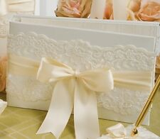 Beverly Clark Chantilly Lace Custom Color Guest Book