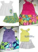 * NWT NEW GIRLS CARTERS SEA HORSE WATERMELON SUMMER OUTFIT SET 3M 9M 18M