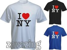 I LOVE NY NEW YORK MENS T-SHIRT USA AMERICA LA HEART ALSO AVAILABLE IN LADY FIT
