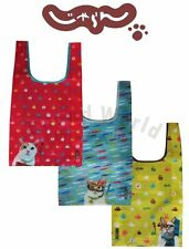 Cat Kitten Kitty Reusable Recycle Eco Shopping Bag Handbag (3 Styles Available)
