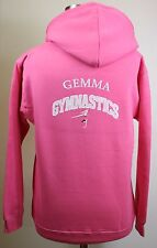 Personalised Gymnastics Hoodie Hoody Sizes 3-13 Years Contact me for larger size