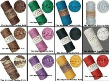 205 Foot Spool Smooth Polished Hemp Cord 1mm 20lb test *Many Colors Available
