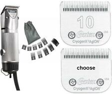 Oster Golden A5 1-sp Dog Animal Clipper+10-Combs+Extra Blade #10 #15 #40 #50 New