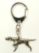 Pointer Silver Keyring