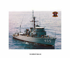 USS IMPLICIT MSO 455  USN Naval Ship Photo Print