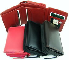Visconti quality  leather purse/Tri-fold-side-wallet HT-30 reduced to clear
