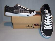 Tony Hawk Men's Culprit Black White Plaid Skate Shoes SIZES! NIB NEW
