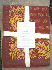 WILLIAMS SONOMA  MARSEILLE TABLECLOTH OR TABLE RUNNER ~ VARIETY OF SIZES