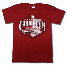 Alabama Crimson Tide 2011 BCS National Champions T-Shirts - Crimson Shield