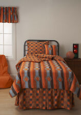 Game Day Basketball Orange Stripe SIS Youth Bed in a Bag Set Choose Size!!!