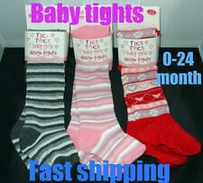 New Baby Toddler GIRLS TIGHTS designs  COTTON funky warm  0-6 6-12 12-18 18-24 m
