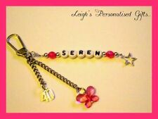 Personalised Special Age Keyrings 13th 16th 18th 21st 30th 40th 50th Cheap Gift