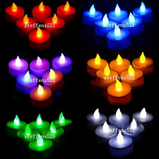 LED tea light candle various color&quantity for chose flickering flameless