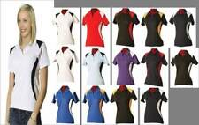 Polo Shirt,Short Sleeve,Winner,Polo,Sportswear,New,8,10,12,14,16,18,Womens, Lady