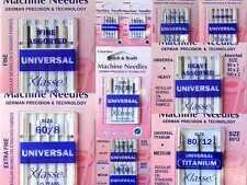 Hemline Klasse Universal German Sewing Machine Needles