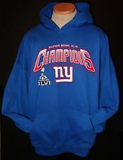 New York Giants Super Bowl XLVI Champions  Hoodie Hooded Sweatshirt Adult S-5XL