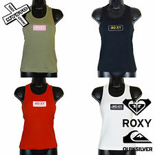 QUIKSILVER ROXY WOMENS VEST WHITE RED BLACK GREEN UK 6 8 10 12 SURF BNWT RRP £25